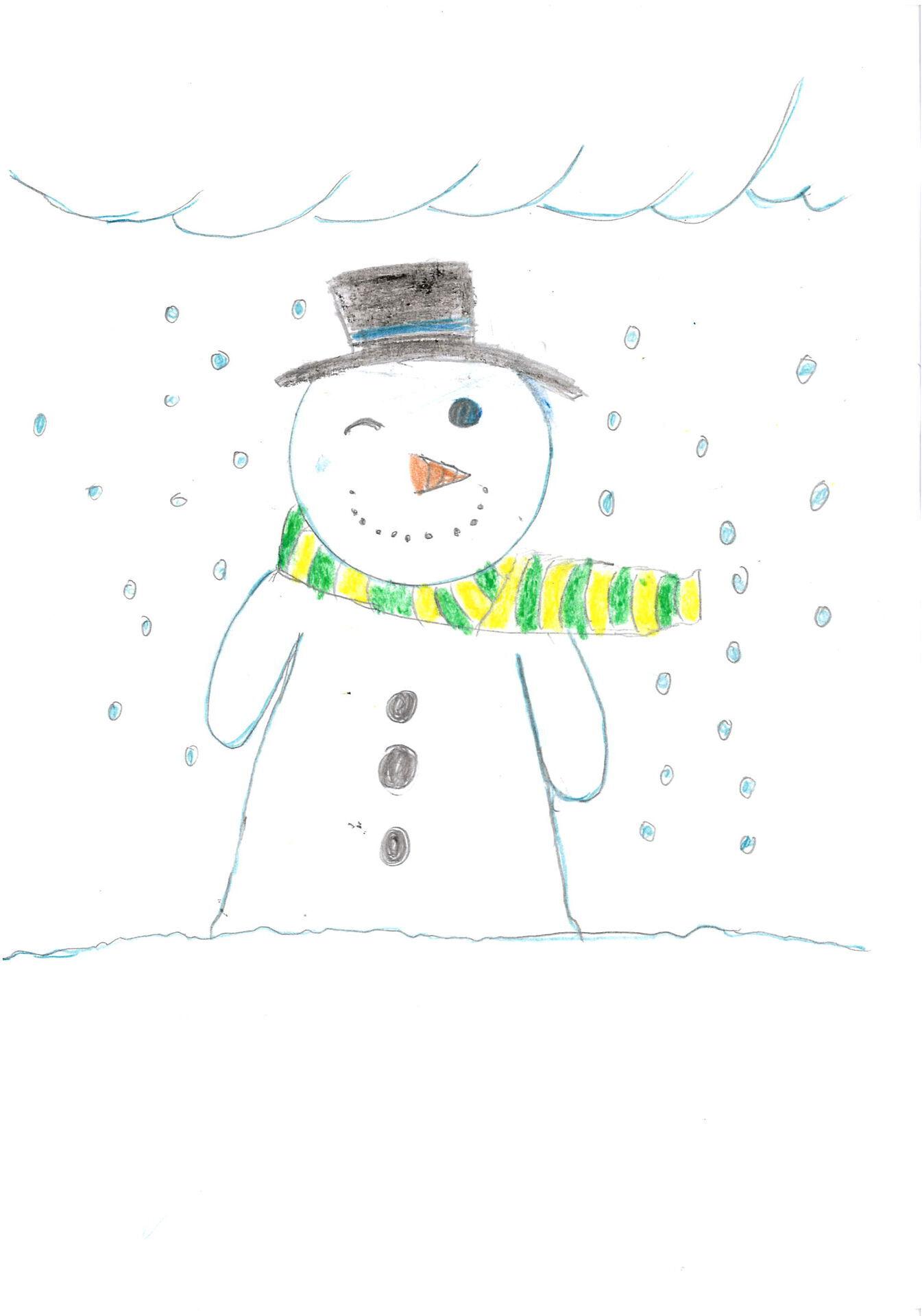 El ninot de neu